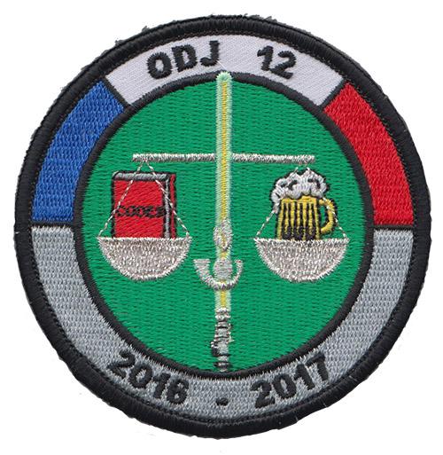 53b73e6723b4 Écusson de la 12 promotion ODJ.